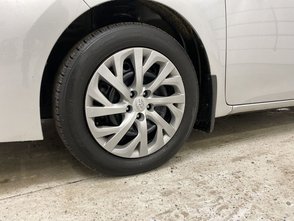 Silver[Classic Silver Metallic] 2018 Toyota Corolla Left Front Rim and Tire Photo in Dartmouth NS