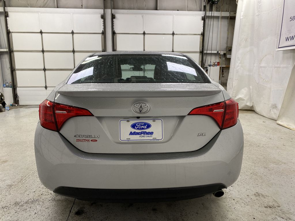 Silver[Classic Silver Metallic] 2018 Toyota Corolla Rear of Vehicle Photo in Dartmouth NS