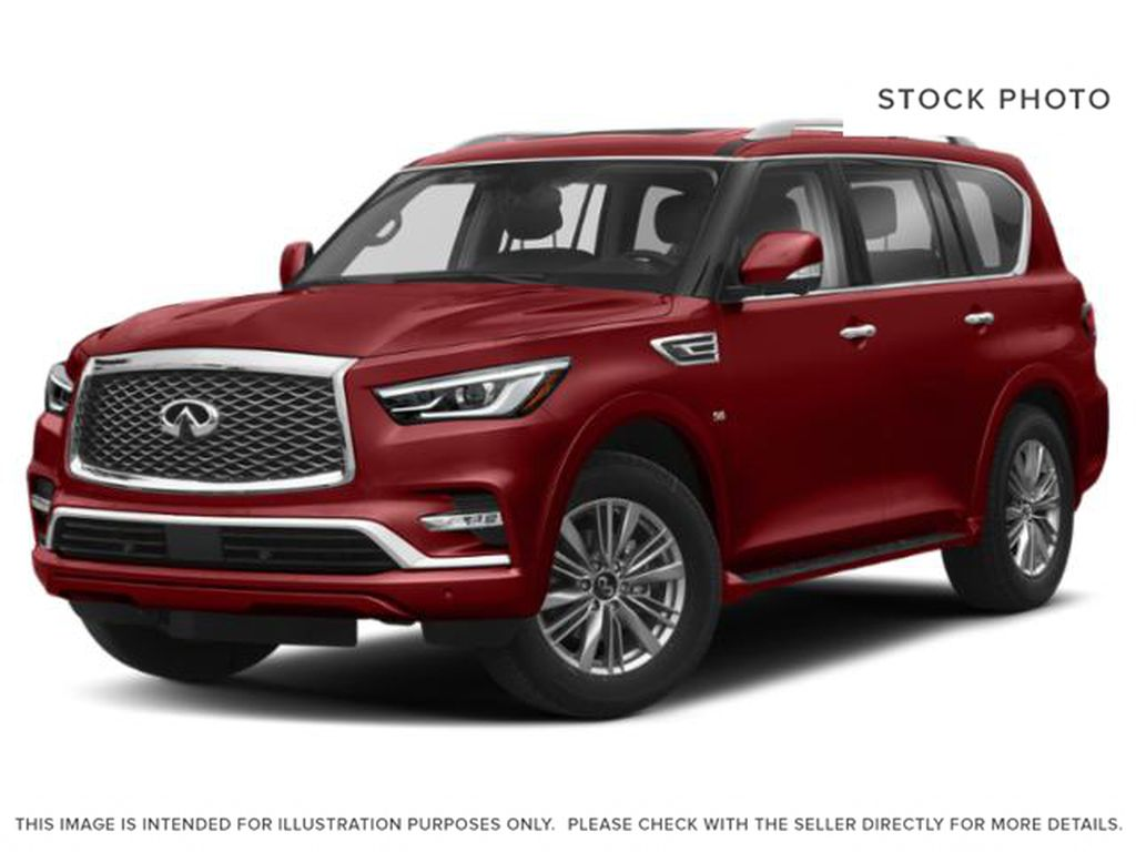 Red[Coulis Red Pearl] 2020 INFINITI QX80
