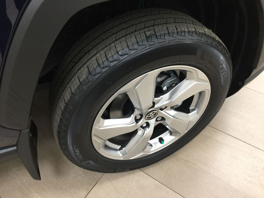 Blue[Blueprint] 2021 Toyota RAV4 Limited Hybrid Right Front Rim and Tire Photo in Sherwood Park AB