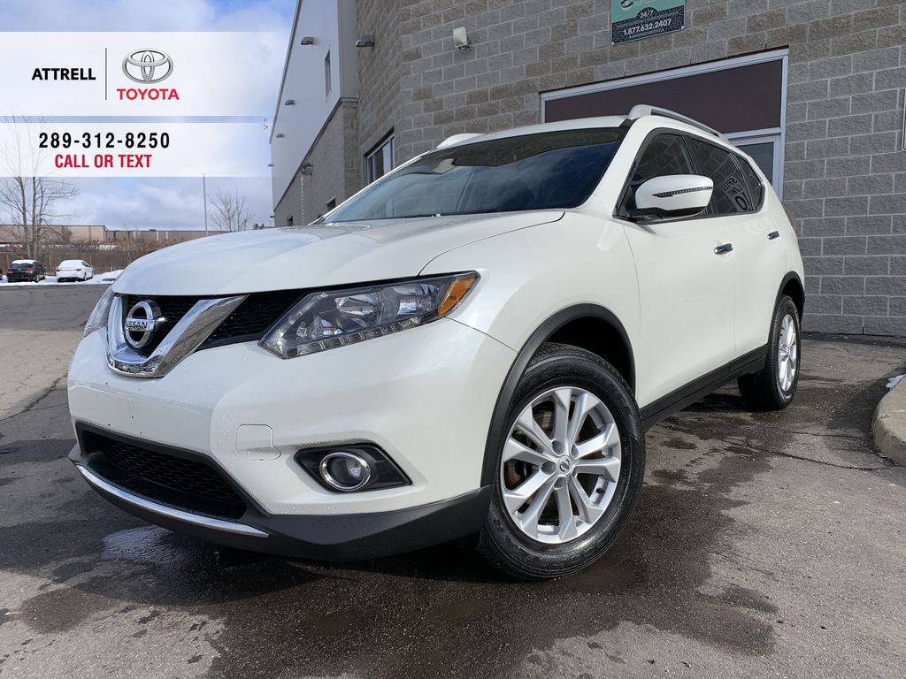 White 2016 Nissan Rogue