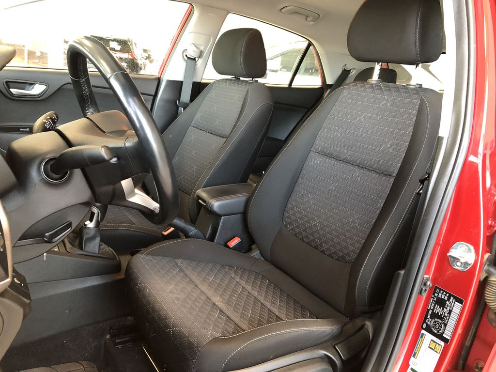 Red 2018 Kia Rio 5-door LX Central Dash Options Photo in Edmonton AB