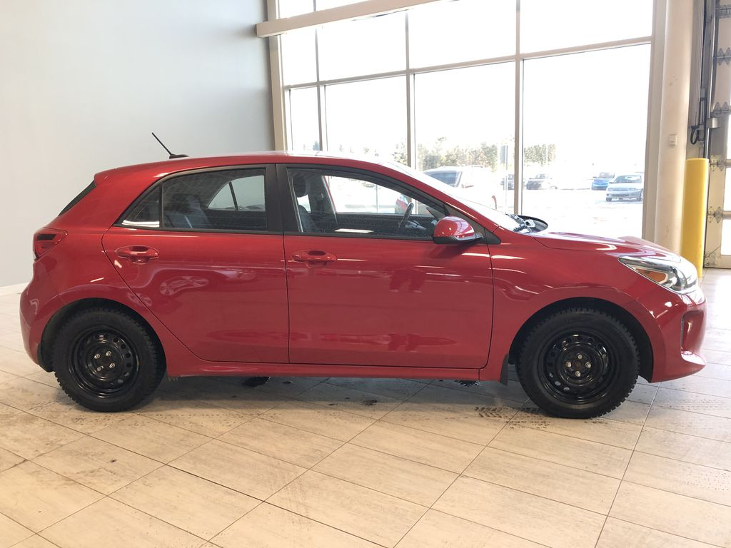 Red 2018 Kia Rio 5-door LX Right Rear Corner Photo in Edmonton AB