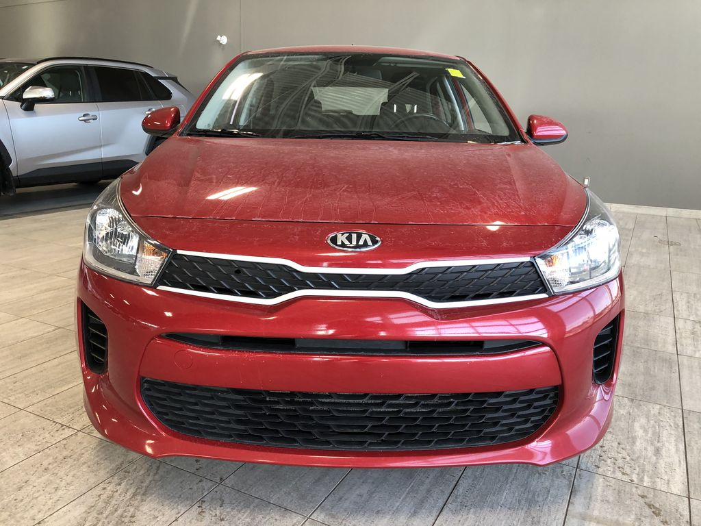 Red 2018 Kia Rio 5-door LX Odometer Photo in Edmonton AB