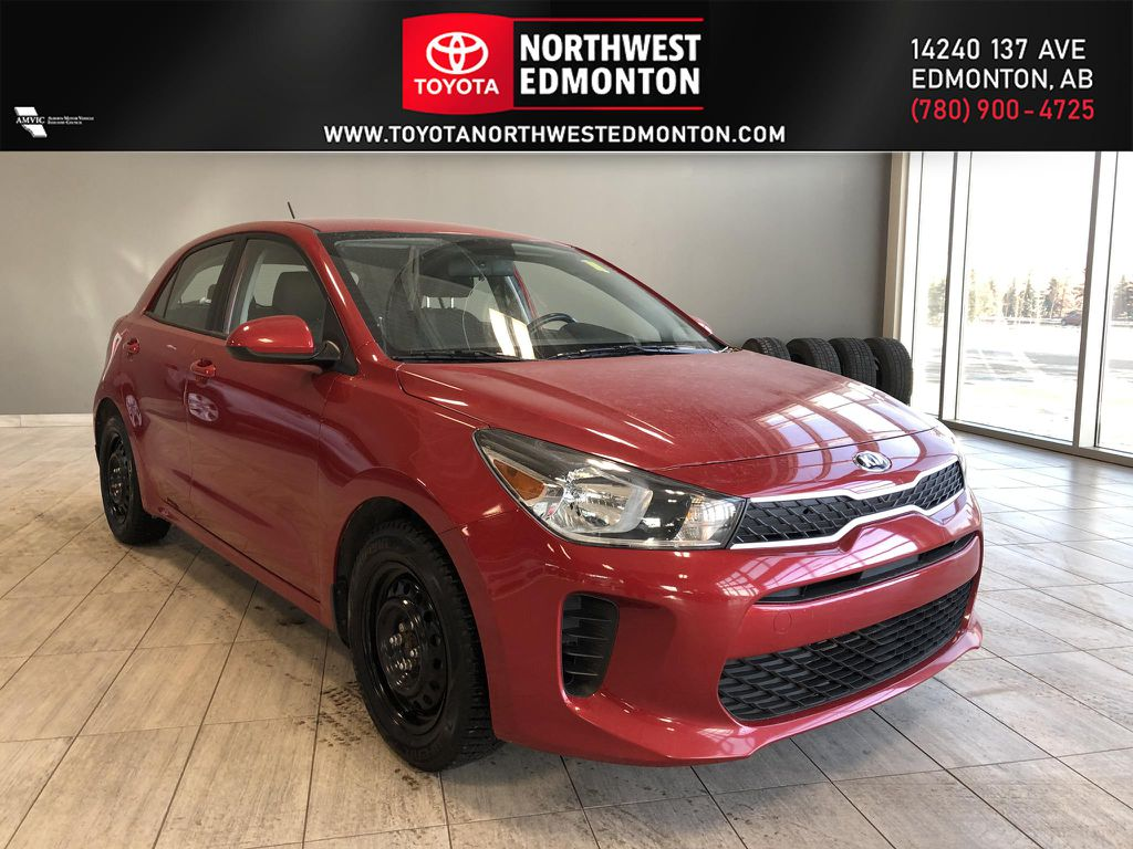 Red 2018 Kia Rio 5-door LX