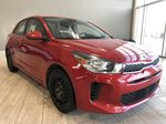 Red 2018 Kia Rio 5-door LX Left Front Interior Photo in Edmonton AB
