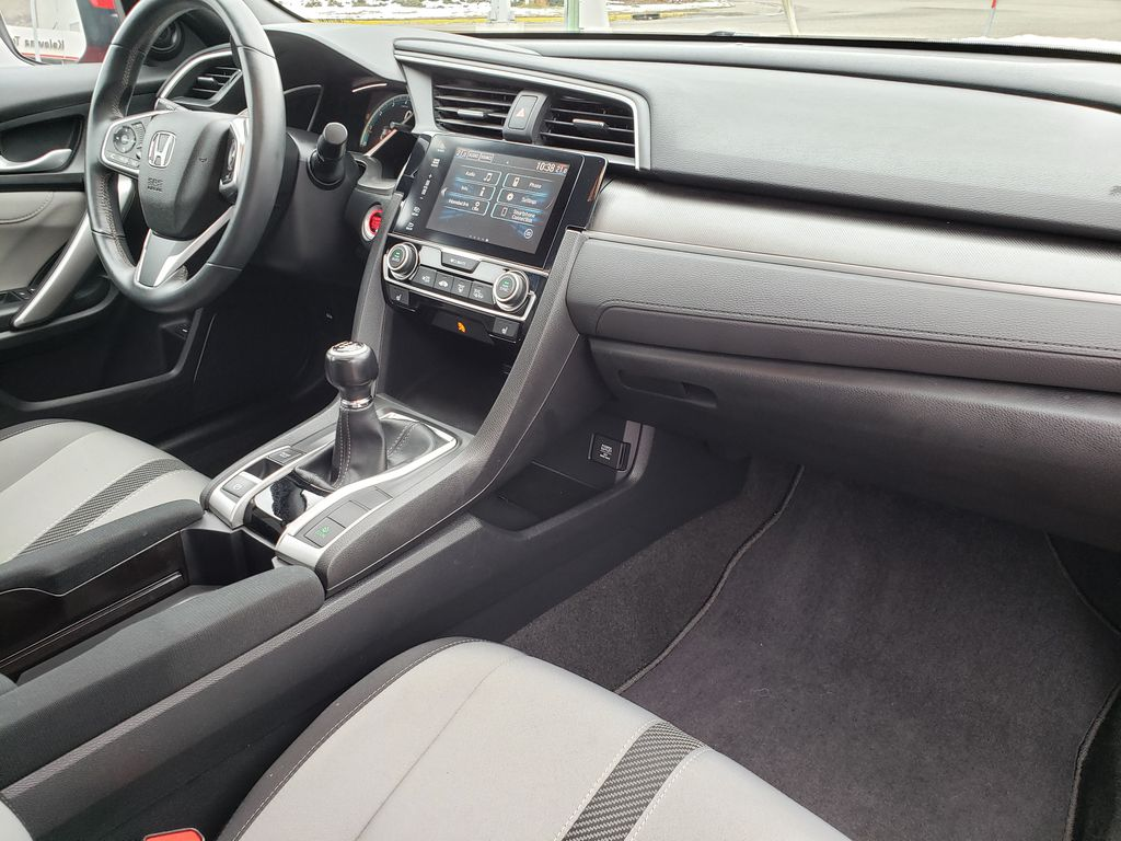 Red[Rallye Red] 2017 Honda Civic Coupe Right Front Interior Door Panel Photo in Kelowna BC