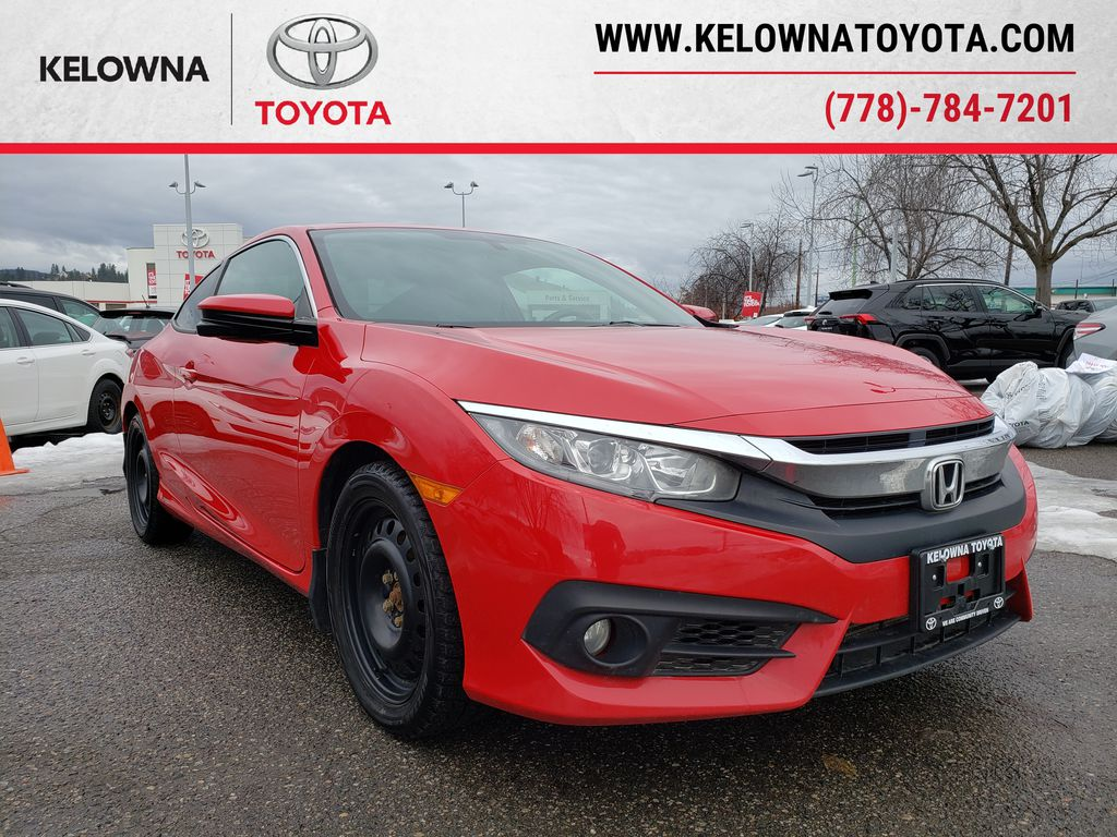 Red[Rallye Red] 2017 Honda Civic Coupe