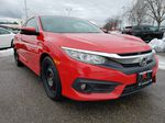 Red[Rallye Red] 2017 Honda Civic Coupe Right Front Corner Photo in Kelowna BC