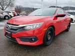 Red[Rallye Red] 2017 Honda Civic Coupe Left Front Corner Photo in Kelowna BC