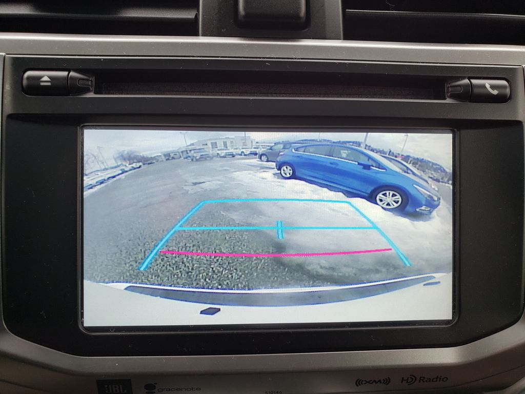 White[Blizzard Pearl] 2018 Toyota 4Runner Center Console Photo in Kelowna BC