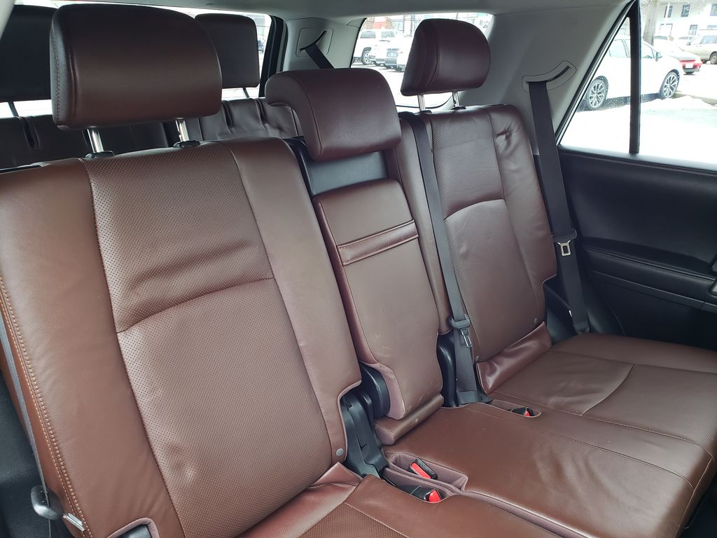 White[Blizzard Pearl] 2018 Toyota 4Runner Right Side Rear Seat  Photo in Kelowna BC
