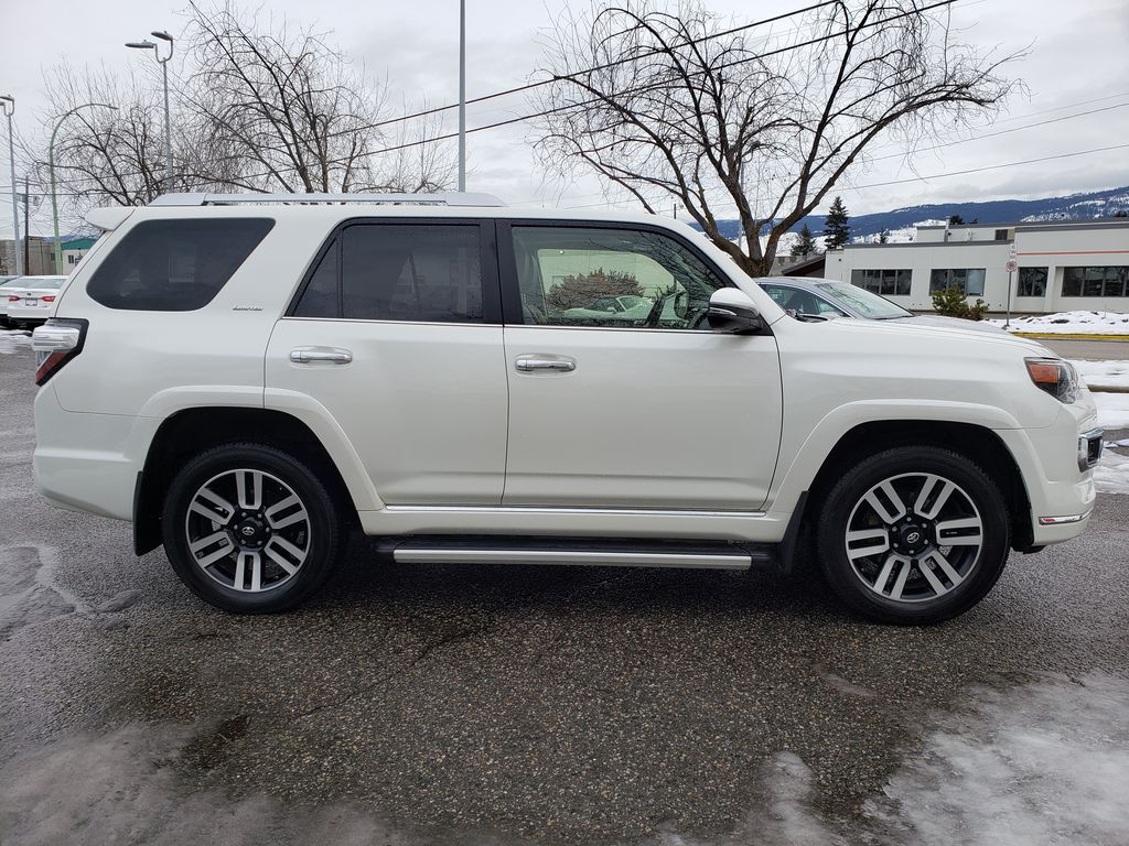 White[Blizzard Pearl] 2018 Toyota 4Runner Right Side Photo in Kelowna BC