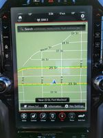 Red 2021 Ram 1500 Central Dash Options Photo in Fort Macleod AB