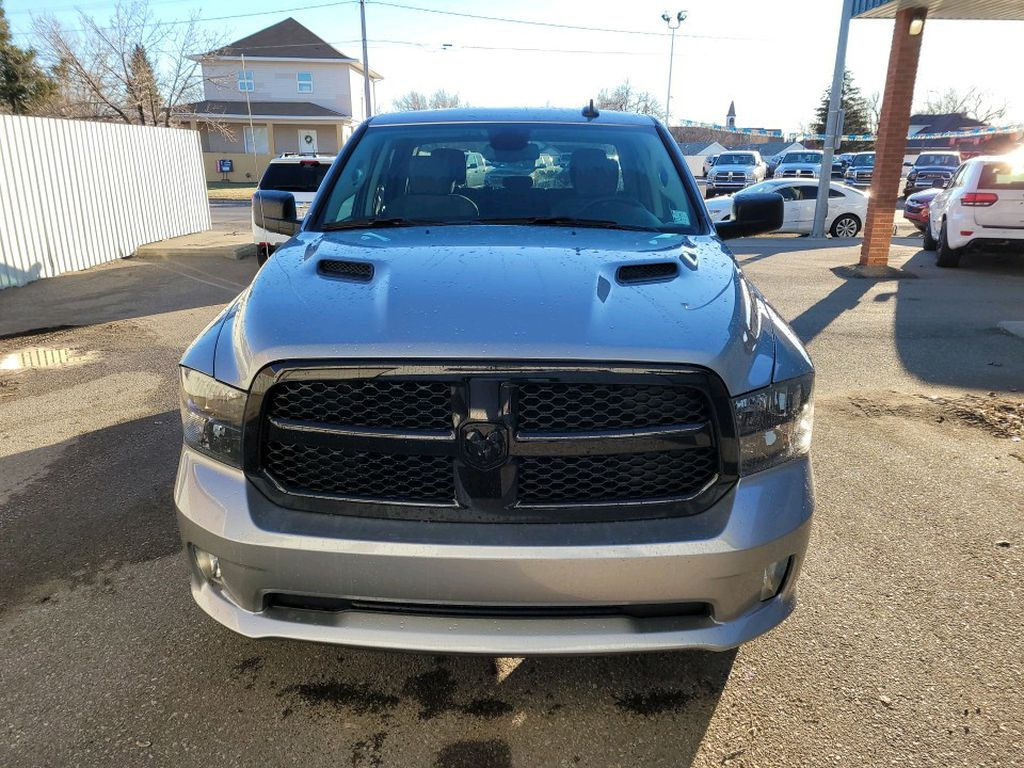 Silver 2021 Ram 1500 Classic Left Front Corner Photo in Fort Macleod AB