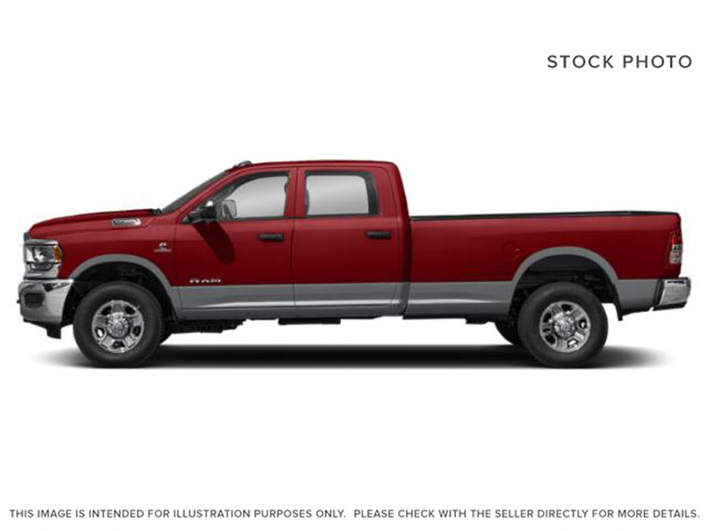 Red[Flame Red] 2021 Ram 2500 Left Side Photo in Fort Macleod AB