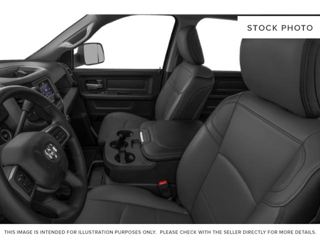 Red[Flame Red] 2021 Ram 2500 Left Front Interior Photo in Fort Macleod AB