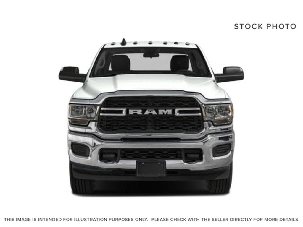 Red[Flame Red] 2021 Ram 2500 Front Vehicle Photo in Fort Macleod AB