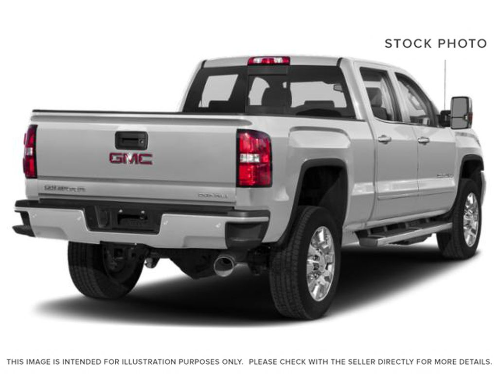 Silver[Quicksilver Metallic] 2019 GMC Sierra 2500HD Right Rear Corner Photo in Fort Macleod AB