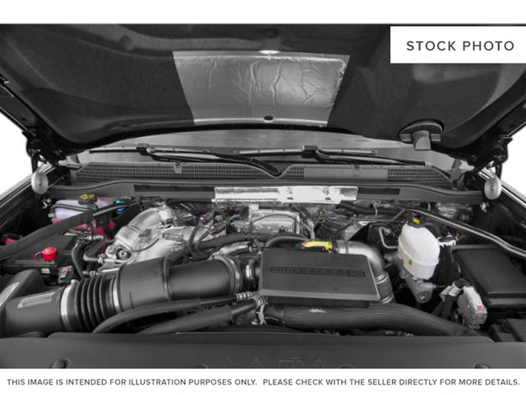 Silver[Quicksilver Metallic] 2019 GMC Sierra 2500HD Engine Compartment Photo in Fort Macleod AB