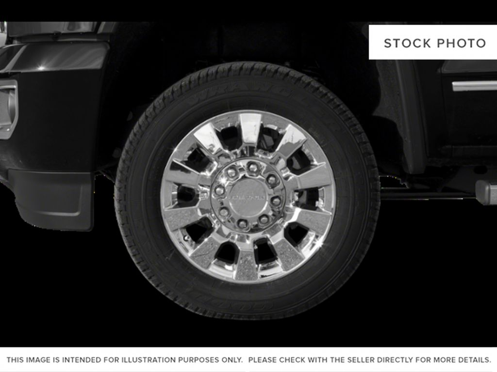 Silver[Quicksilver Metallic] 2019 GMC Sierra 2500HD Left Front Rim and Tire Photo in Fort Macleod AB