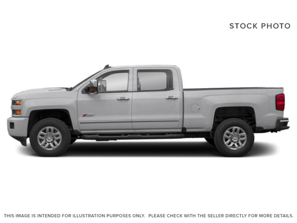 Silver[Silver Ice Metallic] 2019 Chevrolet Silverado 3500HD Left Side Photo in Fort Macleod AB