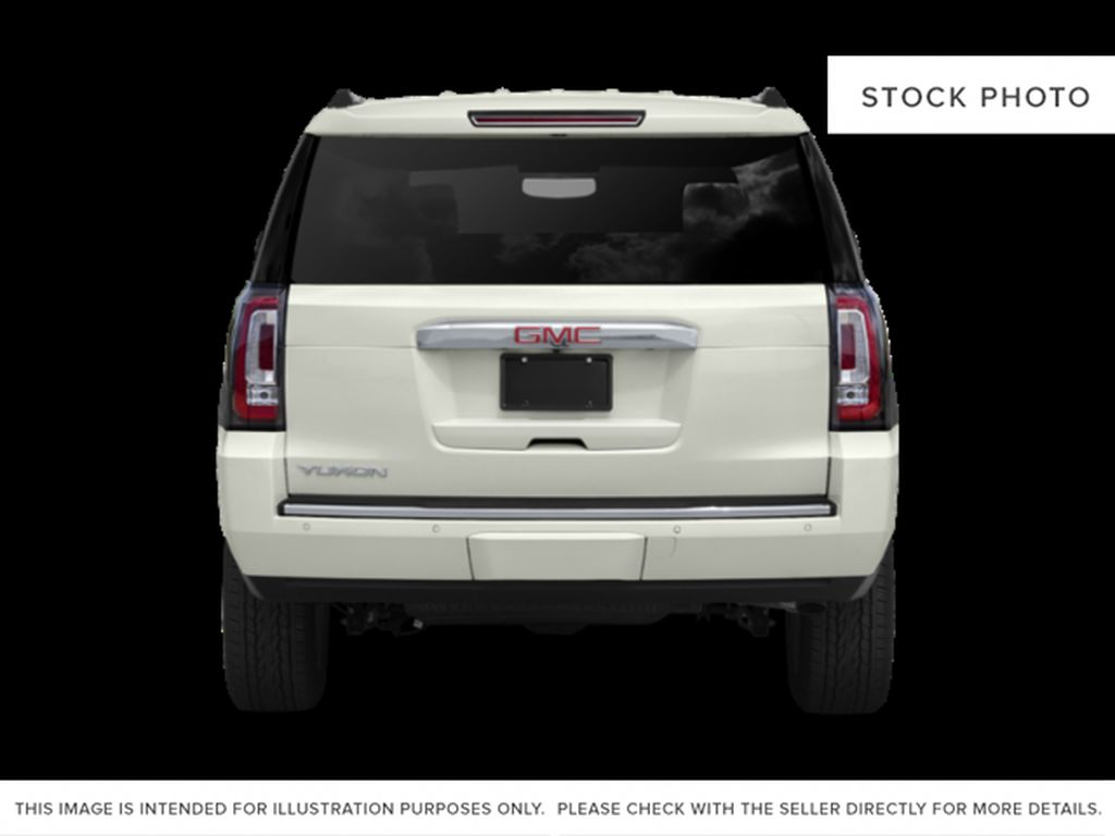 Blue[Dark Sapphire Blue Metallic] 2019 GMC Yukon Rear of Vehicle Photo in Fort Macleod AB