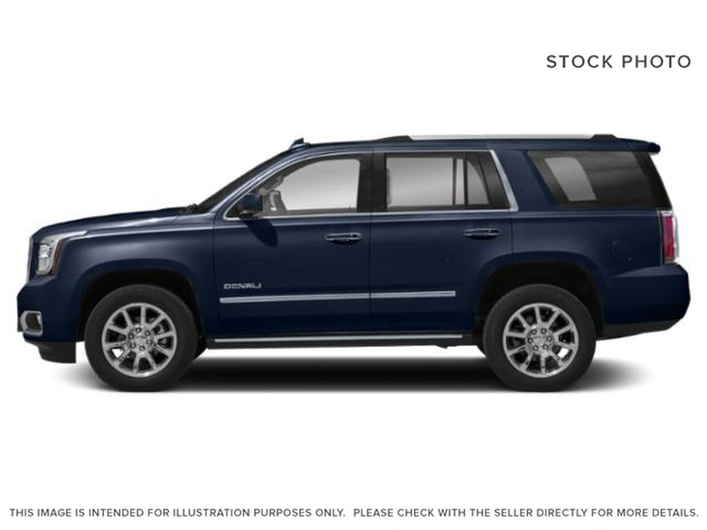 Blue[Dark Sapphire Blue Metallic] 2019 GMC Yukon Left Side Photo in Fort Macleod AB