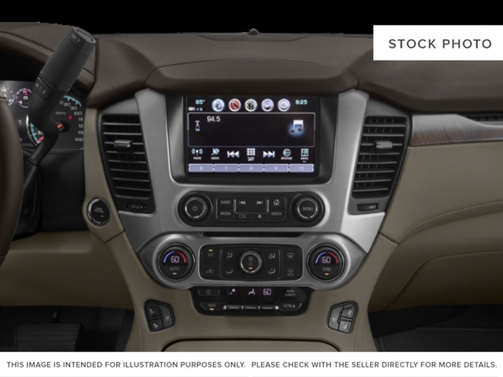 Blue[Dark Sapphire Blue Metallic] 2019 GMC Yukon Radio Controls Closeup Photo in Fort Macleod AB