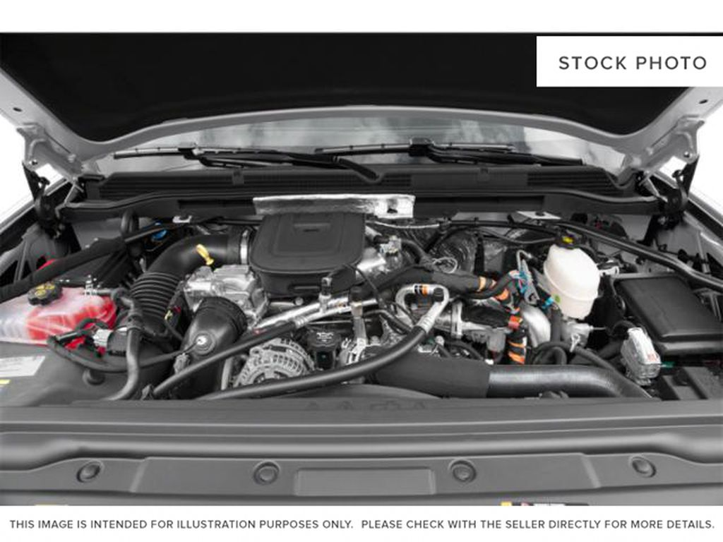 Charcoal 2019 GMC Sierra 3500HD Engine Compartment Photo in Fort Macleod AB