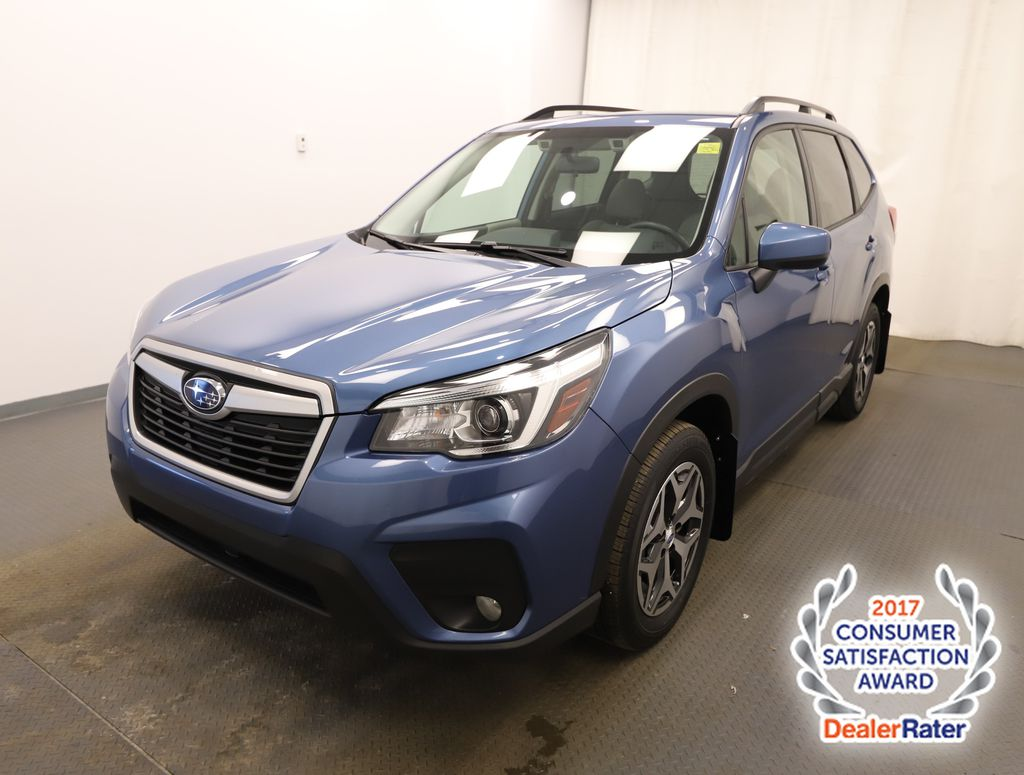 Blue 2020 Subaru Forester