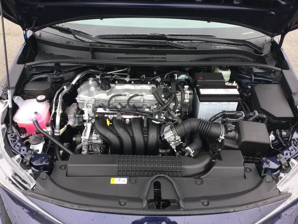 Blue[Blueprint] 2021 Toyota Corolla Engine Compartment Photo in Brockville ON