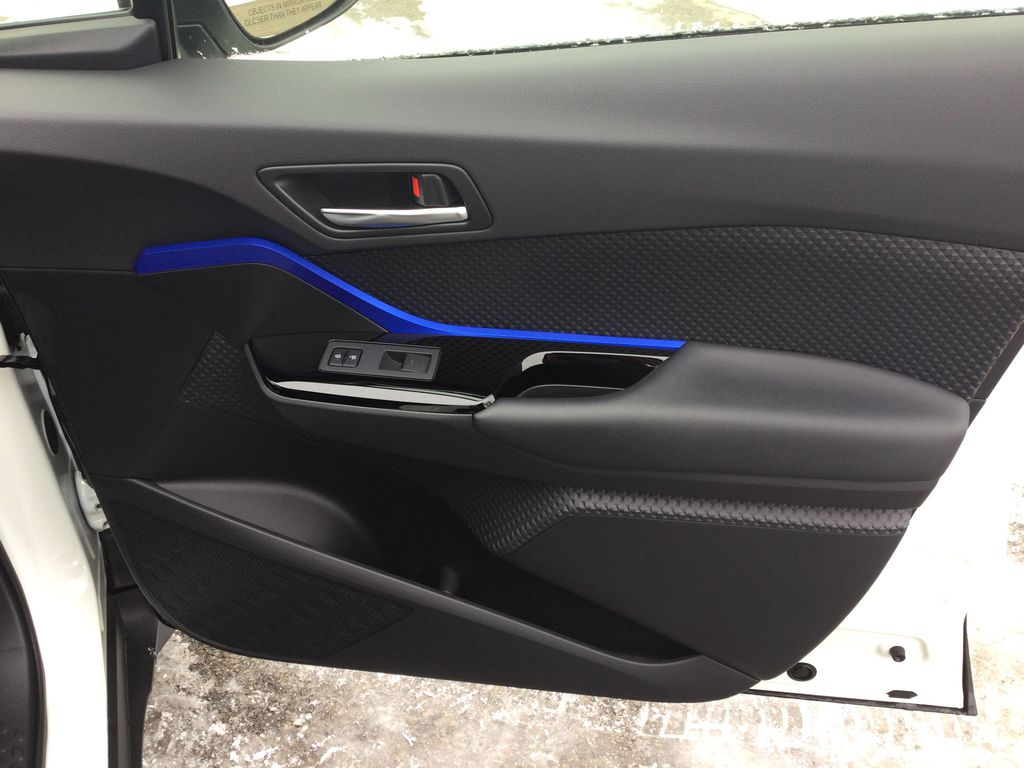 Black[Black Sand Pearl] 2021 Toyota C-HR Right Front Interior Door Panel Photo in Brockville ON