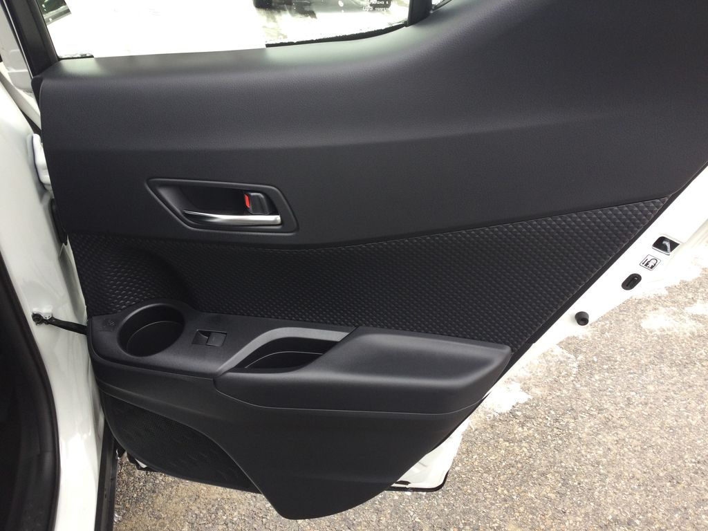 Black[Black Sand Pearl] 2021 Toyota C-HR Right Rear Interior Door Panel Photo in Brockville ON