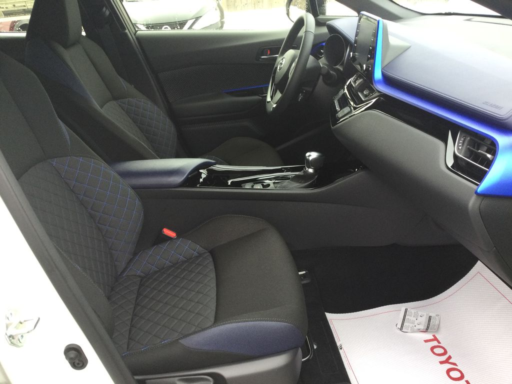 Black[Black Sand Pearl] 2021 Toyota C-HR Right Side Front Seat  Photo in Brockville ON