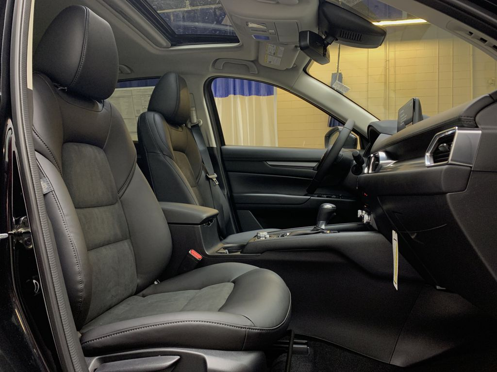 JET BLACK MICA(41W) 2021 Mazda CX-5 GS Comfort AWD Right Side Front Seat  Photo in Edmonton AB