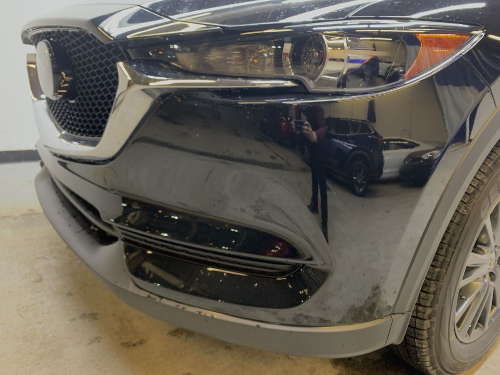 JET BLACK MICA(41W) 2021 Mazda CX-5 GS Comfort AWD Left Front Head Light / Bumper and Grill in Edmonton AB
