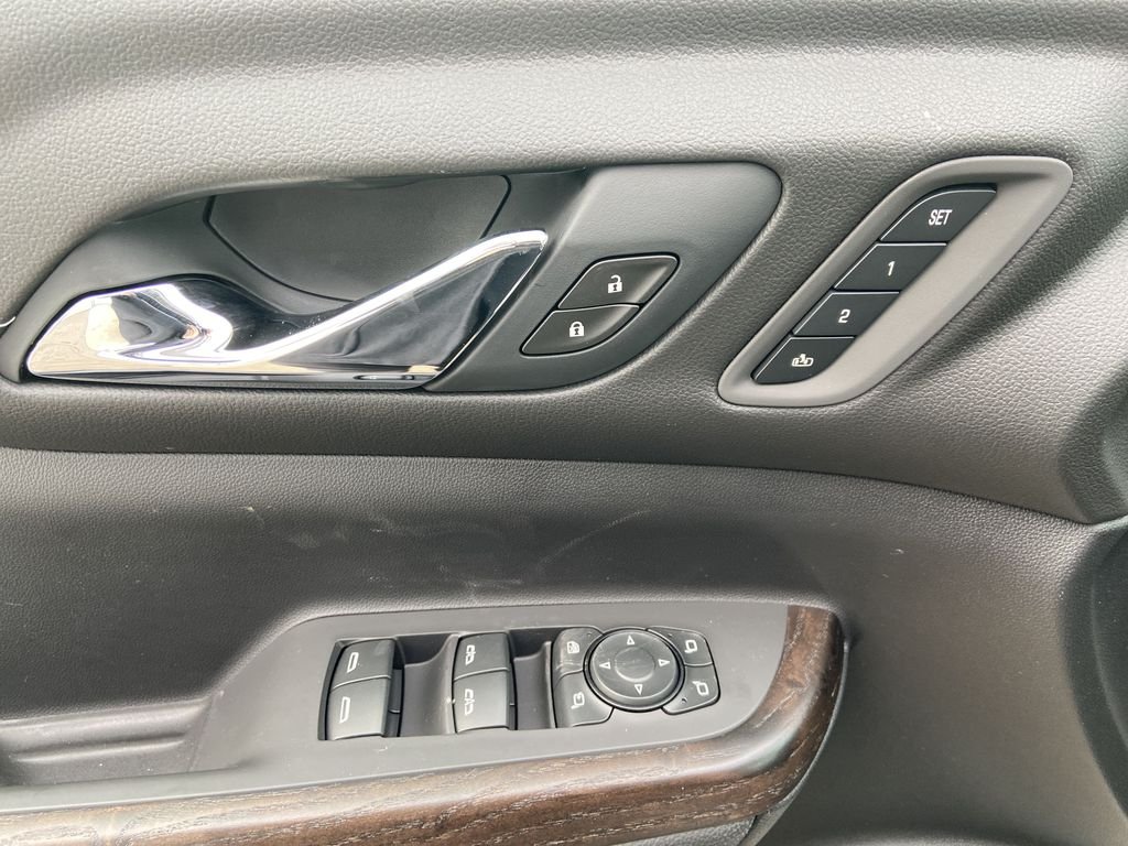 White[White Frost Tricoat] 2021 GMC Acadia Denali  Driver's Side Door Controls Photo in Calgary AB