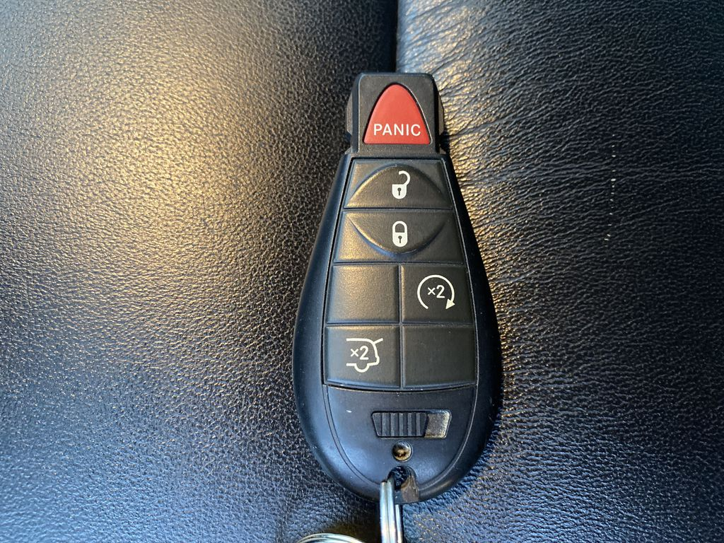 Red[Inferno Red Crystal Pearl] 2011 Jeep Grand Cherokee Key and Fob Photo in Edmonton AB