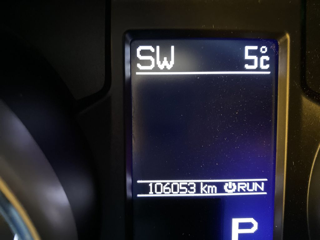 Red[Inferno Red Crystal Pearl] 2011 Jeep Grand Cherokee Odometer Photo in Edmonton AB