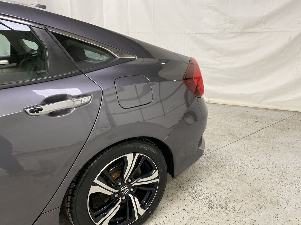 Gray[Modern Steel Metallic] 2016 Honda Civic Sedan Left Rear Corner Photo in Dartmouth NS