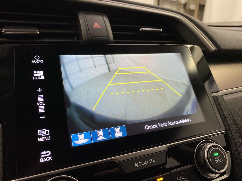Gray[Modern Steel Metallic] 2016 Honda Civic Sedan Backup Camera Closeup Photo in Dartmouth NS