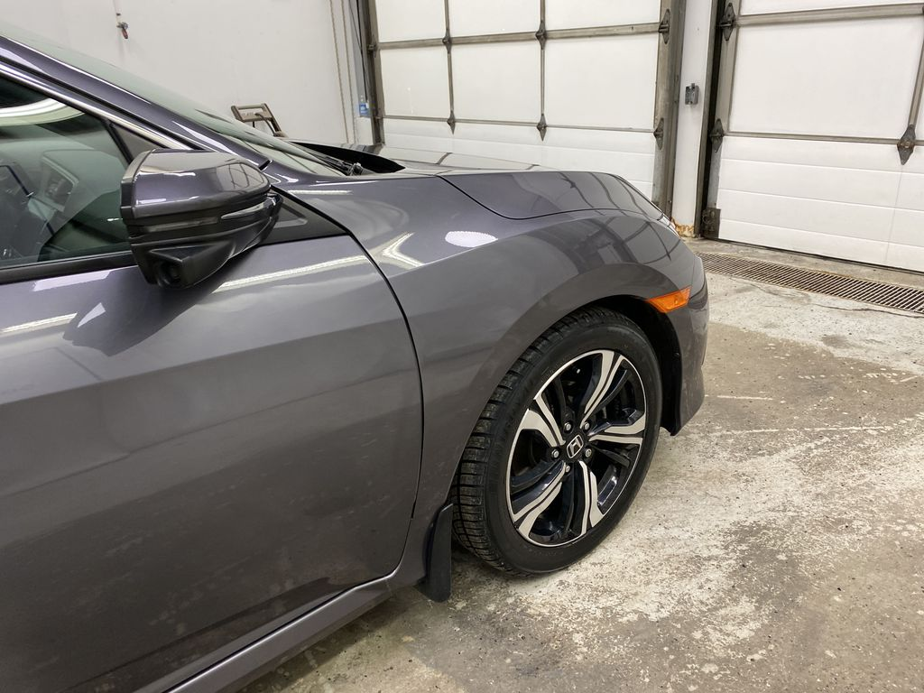 Gray[Modern Steel Metallic] 2016 Honda Civic Sedan Right Front Corner Photo in Dartmouth NS