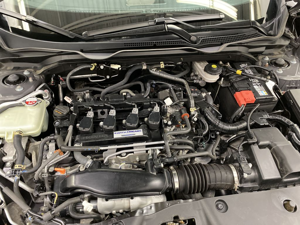 Gray[Modern Steel Metallic] 2016 Honda Civic Sedan Engine Compartment Photo in Dartmouth NS
