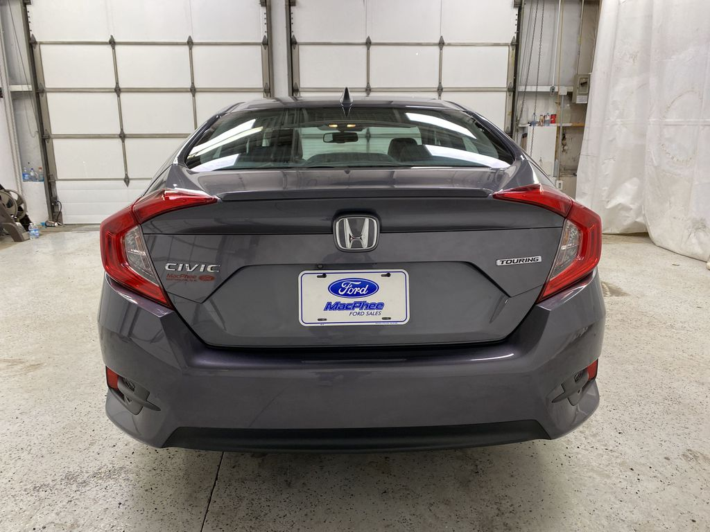 Gray[Modern Steel Metallic] 2016 Honda Civic Sedan Rear of Vehicle Photo in Dartmouth NS