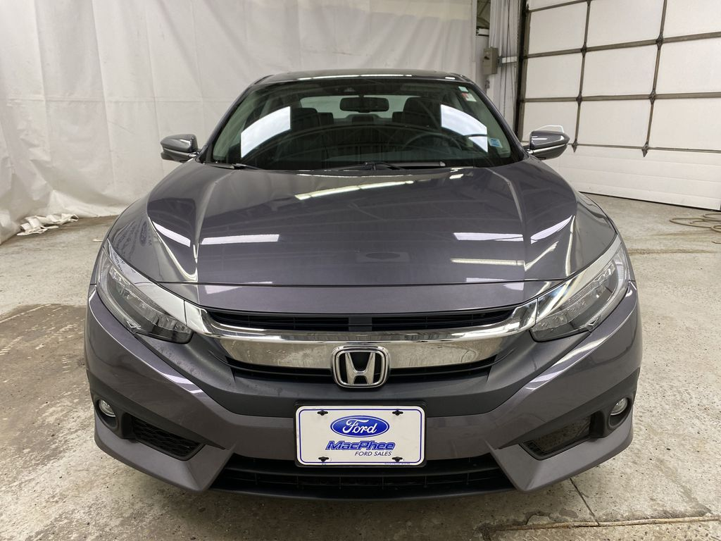 Gray[Modern Steel Metallic] 2016 Honda Civic Sedan Front Vehicle Photo in Dartmouth NS