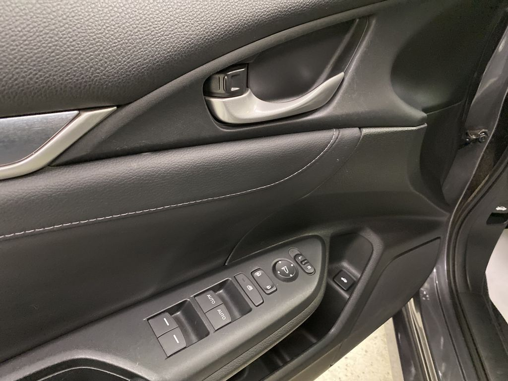 Gray[Modern Steel Metallic] 2016 Honda Civic Sedan  Driver's Side Door Controls Photo in Dartmouth NS