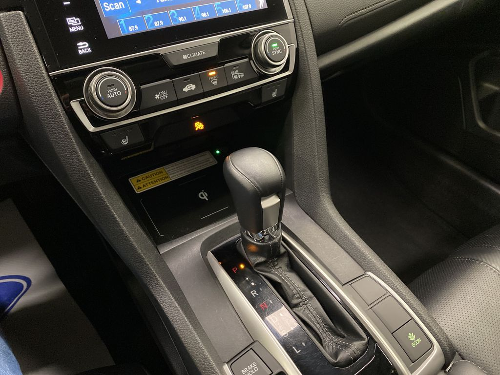 Gray[Modern Steel Metallic] 2016 Honda Civic Sedan Central Dash Options Photo in Dartmouth NS