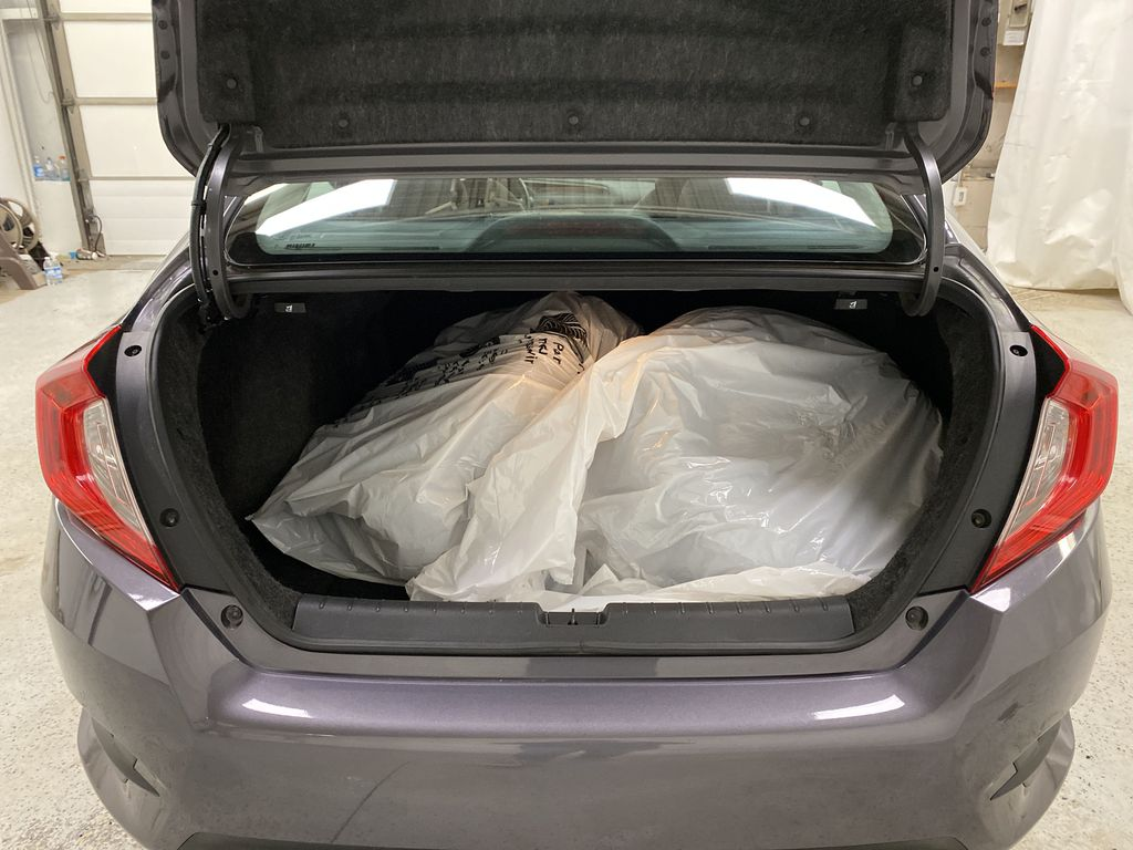 Gray[Modern Steel Metallic] 2016 Honda Civic Sedan Trunk / Cargo Area Photo in Dartmouth NS
