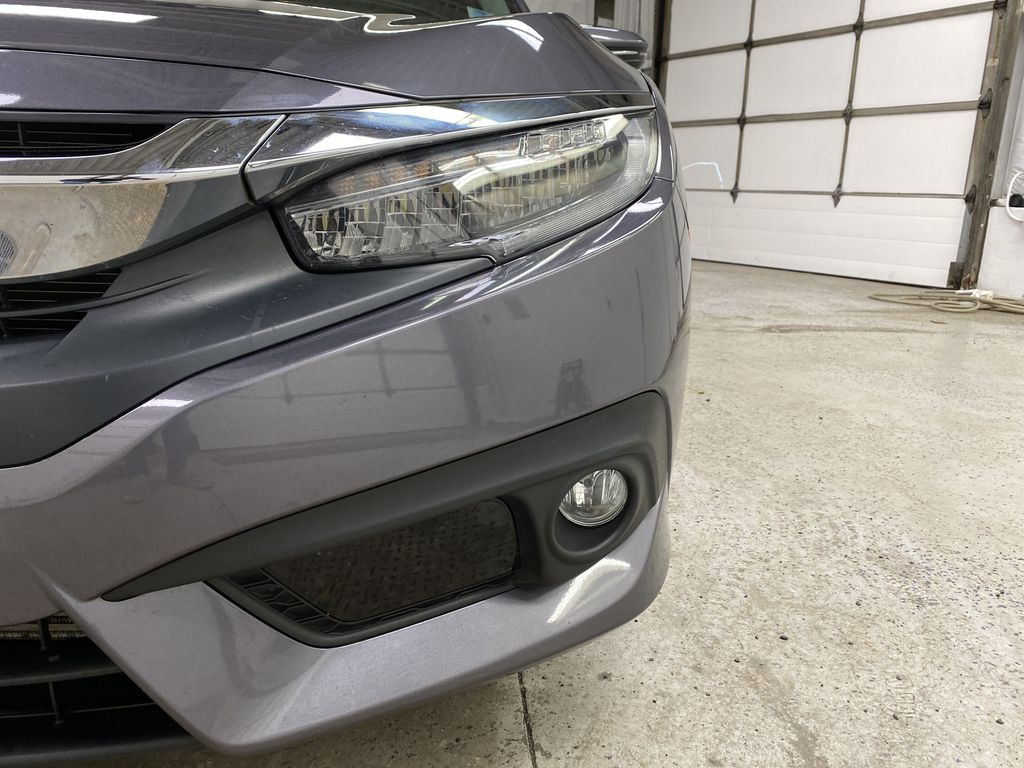 Gray[Modern Steel Metallic] 2016 Honda Civic Sedan Left Front Head Light / Bumper and Grill in Dartmouth NS